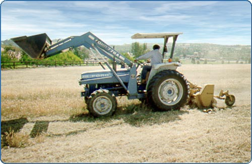 Flail mowing reduces the threat of fire by cutting down medium to large weeds and vegetation. By reducing the growth to a level that is closer to the ground, it promotes a more controllable condition for firefighters.